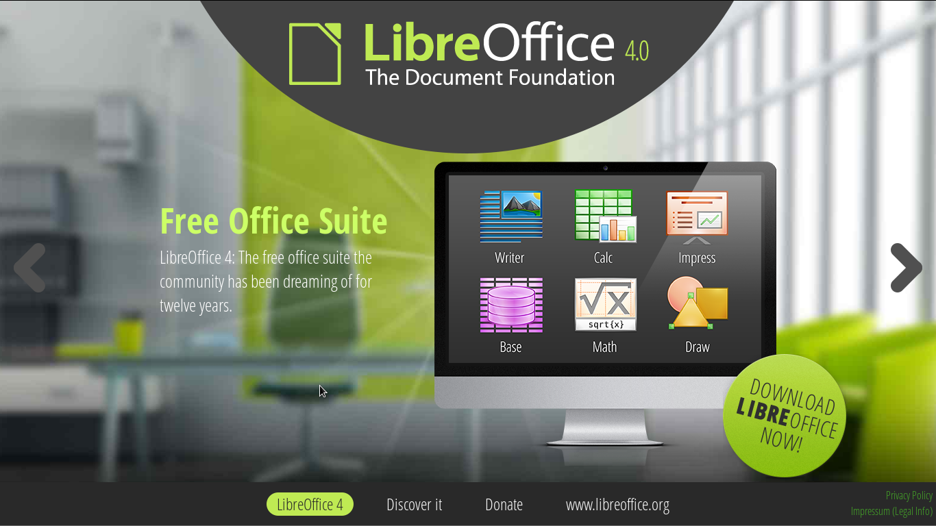 how to install LibreOffice 4.1.0 RC1 on Fedora 19, Fedora 18, Fedora 17, OpenSUSE 13.1, OpenSUSE 12.3, OpenSUSE 12.2, Mageia 3, Mageia 2 and other RPM based distros